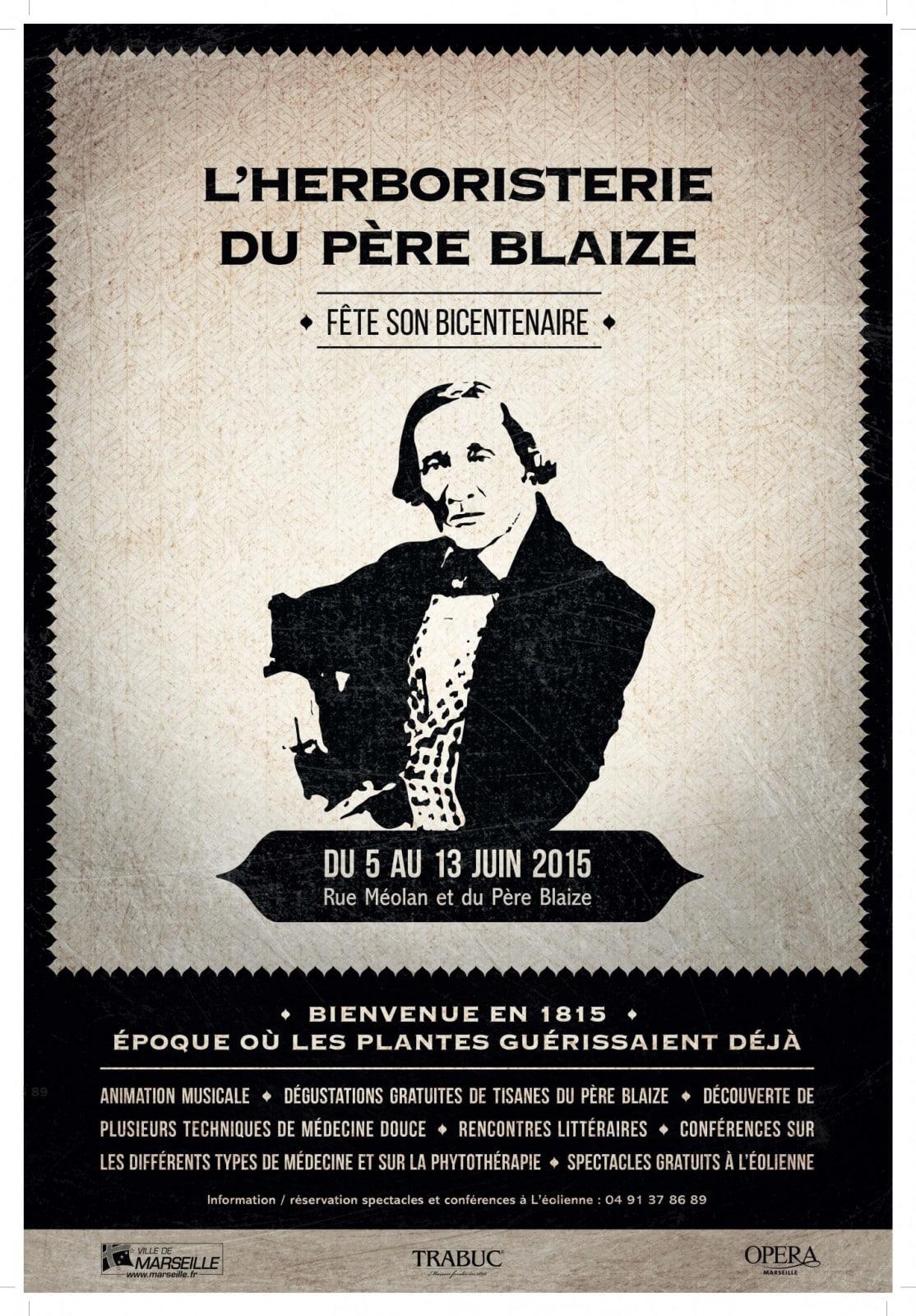 Bicentenaire du Pere Blaize à Marseille